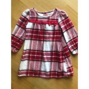 Plaid flannel Gymboree Christmas dress size 2T